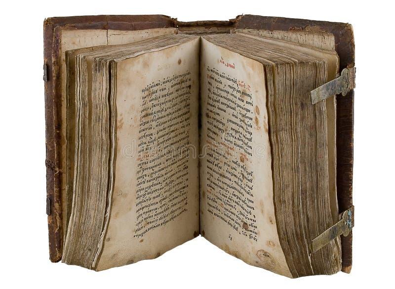 Het oude boek stock afbeeldingen