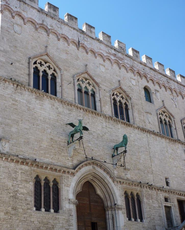Het oude bulding van San Marino royalty-vrije stock afbeelding