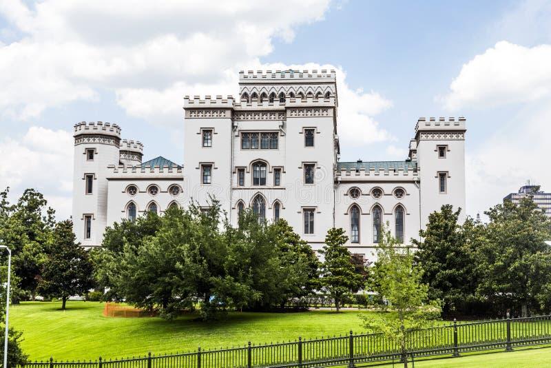 Het oude Capitool van de Staat van Louisiane stock foto