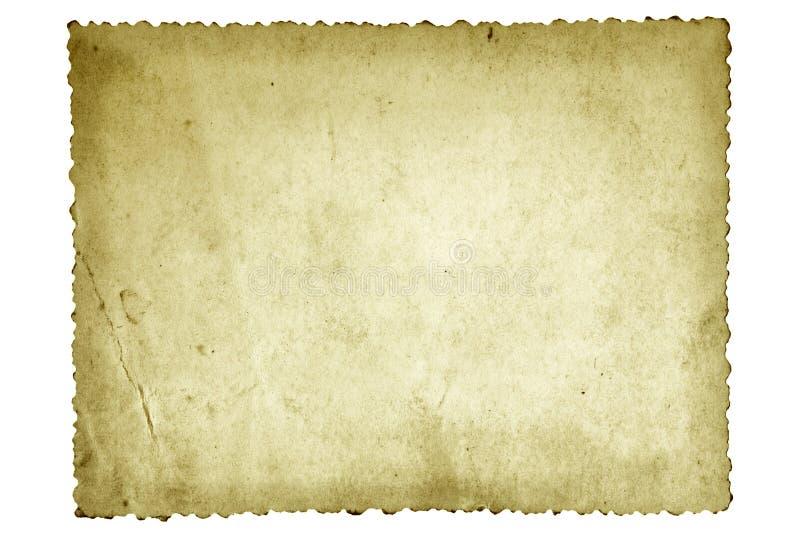 Het oude Document van de Foto royalty-vrije stock fotografie