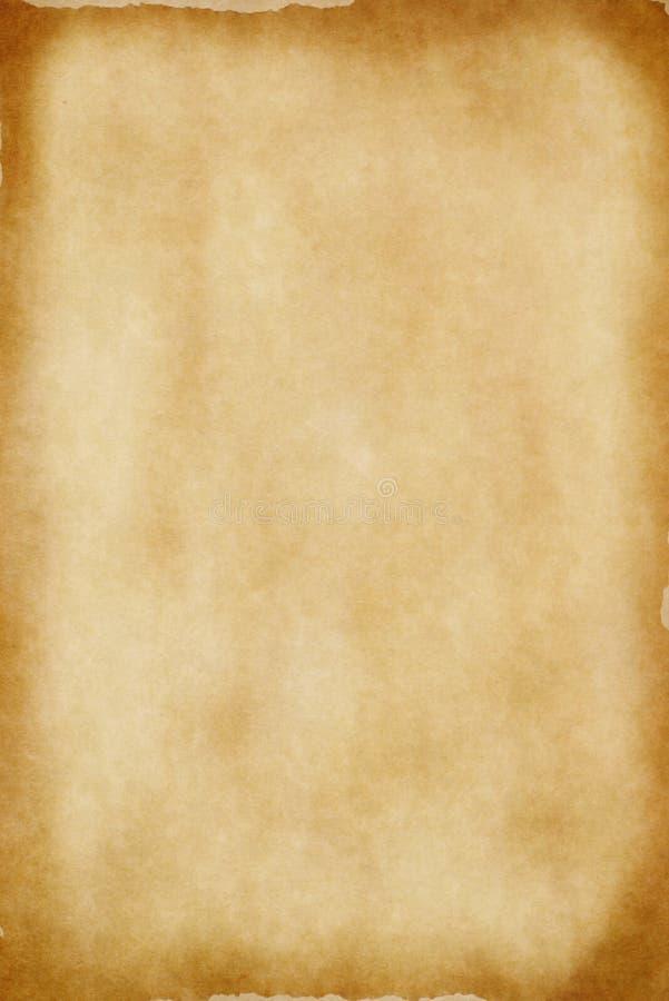 Het oude Document van het Perkament stock afbeeldingen
