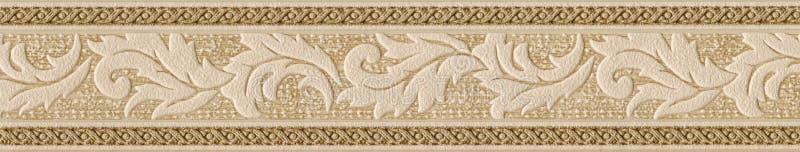 Het oude element van de behangdecoratie royalty-vrije stock afbeeldingen