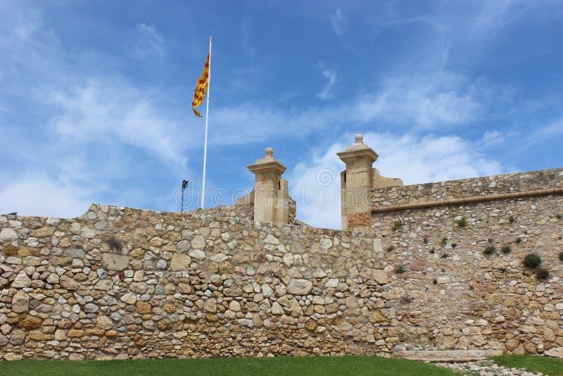 Het oude fort stock fotografie
