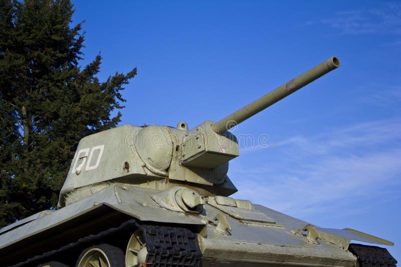 Het oude Gedenkteken van de Tank in Berlijn stock fotografie