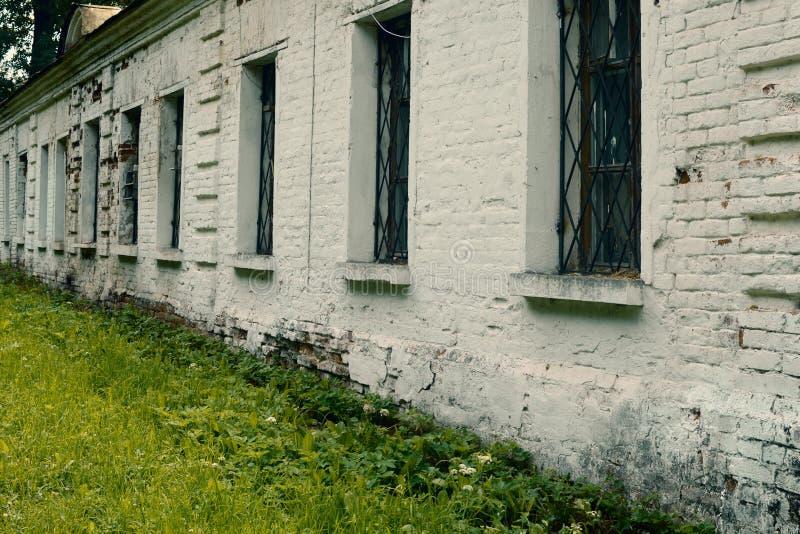 Het oude historische witte paleis van de keizer royalty-vrije stock foto's