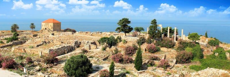 Het oude huis van Byblos royalty-vrije stock fotografie