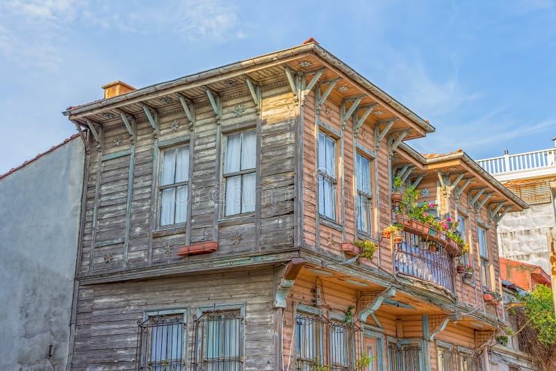 Het oude huis van Istanboel stock foto's