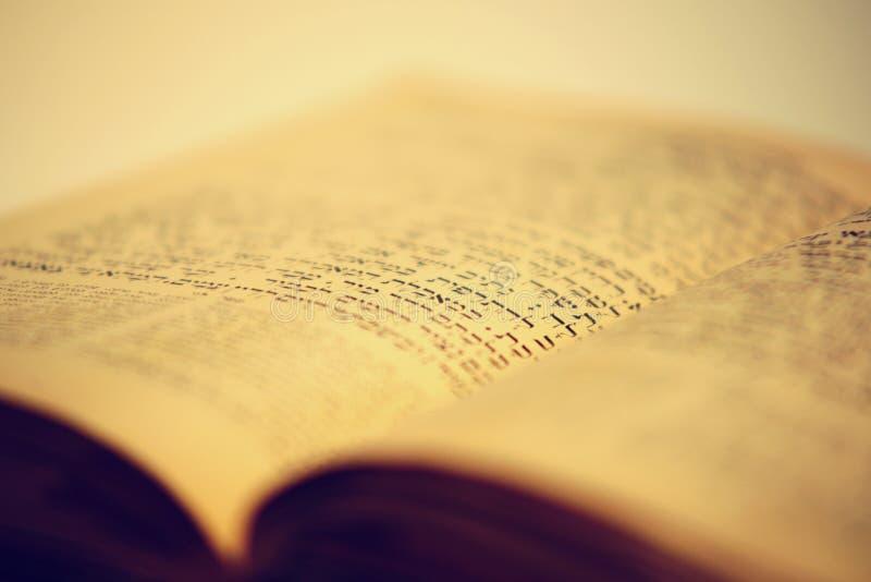 Het oude Joodse boek van Nice royalty-vrije stock foto