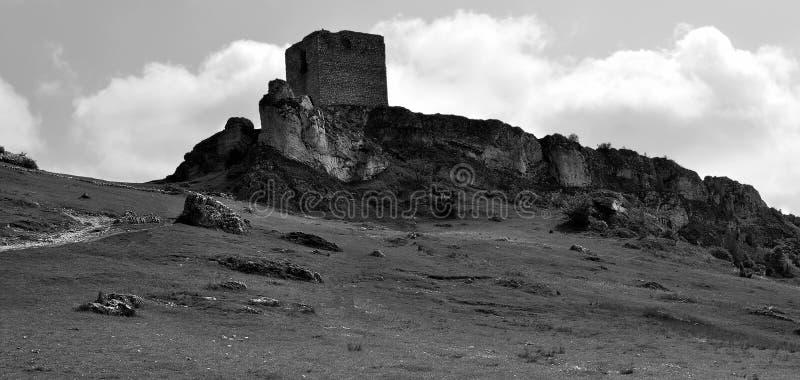 Het oude kasteel van Olsztyn stock afbeelding