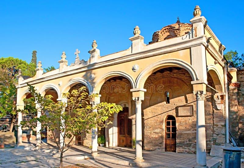 Het oude klooster stock foto