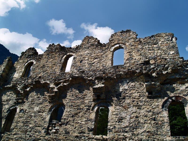 Het oude Klooster van heilige Dionysios royalty-vrije stock afbeeldingen
