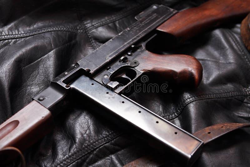Het oude Machinepistool van de V.S. royalty-vrije stock foto's