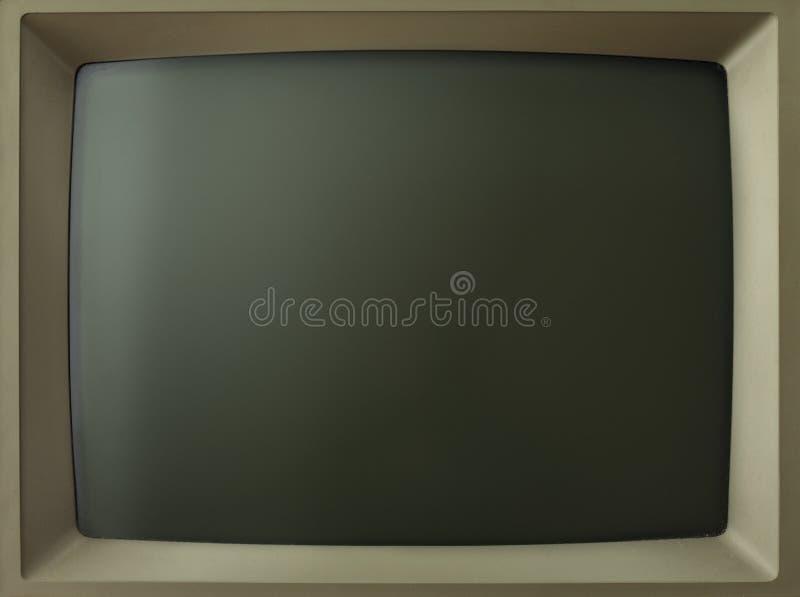 Het oude scherm royalty-vrije stock afbeelding