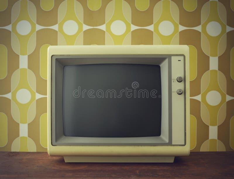 Het oude scherm stock afbeeldingen