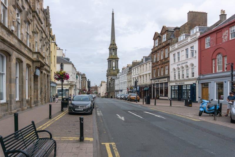 Het Oude Stadhuis van Sandgate & van Ayr in Ayr Schotland stock foto