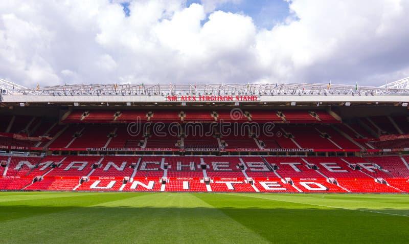 Het Oude Trafford-stadion royalty-vrije stock fotografie