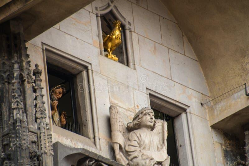 Het oude vierkant van de Stad in Praag, Tsjechische Republiek royalty-vrije stock foto