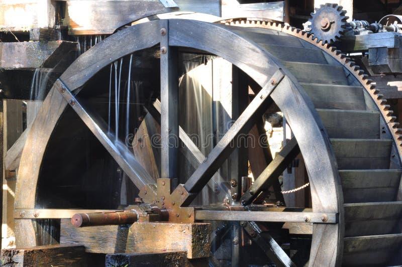 Het oude Waterrad van de Molen royalty-vrije stock foto's