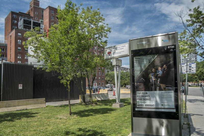Het oude Ziekenhuis van Montreal Childreen stock foto