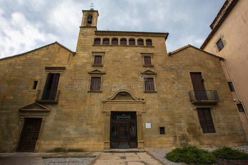 Het oude Ziekenhuis van Santa Creu stock foto
