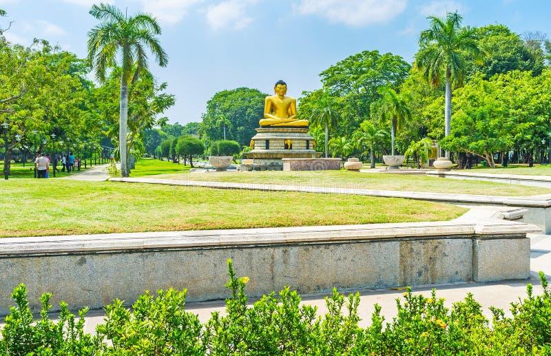 Het oudste park van Colombo royalty-vrije stock foto's