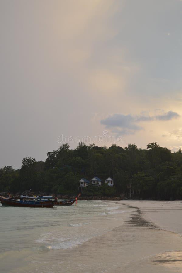Het overweldigen van mooi Pattaya-strand Koh Lipe Thailand royalty-vrije stock foto