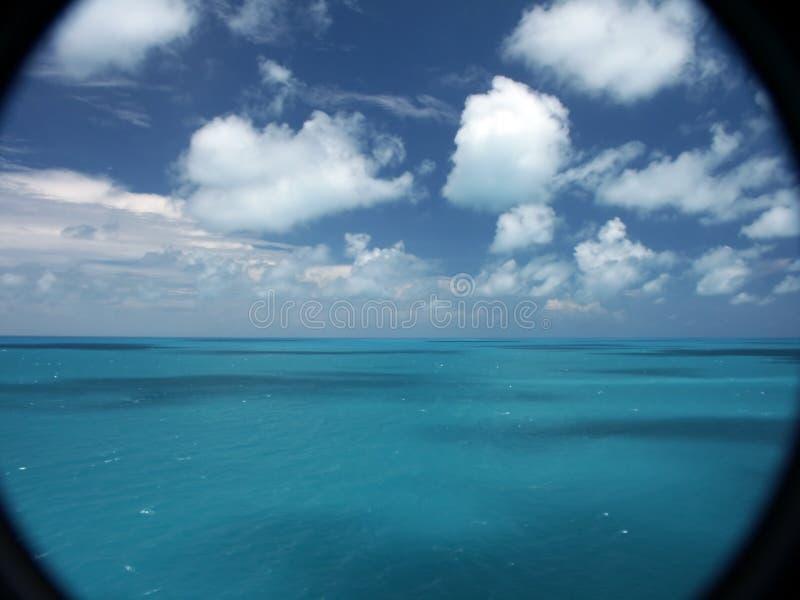 Het Overzees en de Hemel van de Bermudas royalty-vrije stock foto's