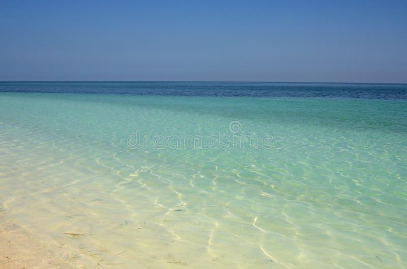 Het overzees van Cuba royalty-vrije stock foto