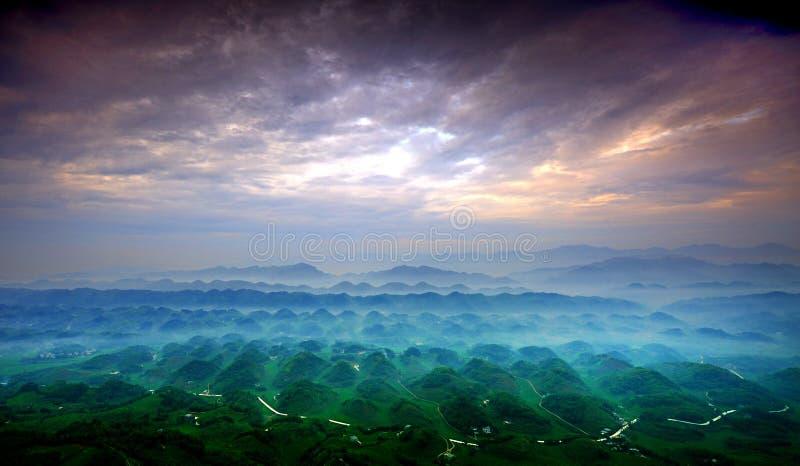 Het Overzees van het bamboe stock foto's