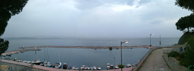 Het overzees van Marmara stock afbeeldingen