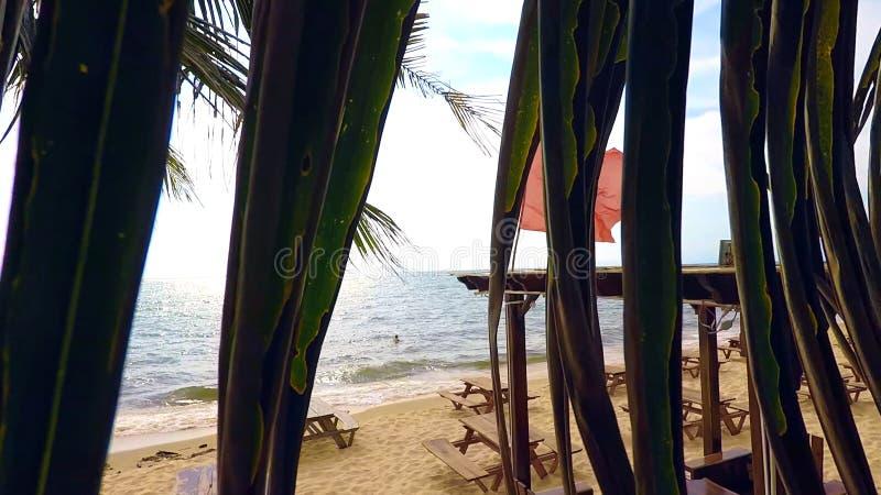 Het overzees van Nieuw-Guinea: tijd voor rust royalty-vrije stock foto