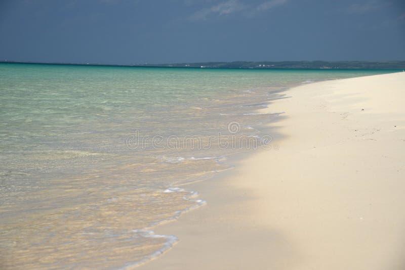 Het overzees van Okinawa royalty-vrije stock foto