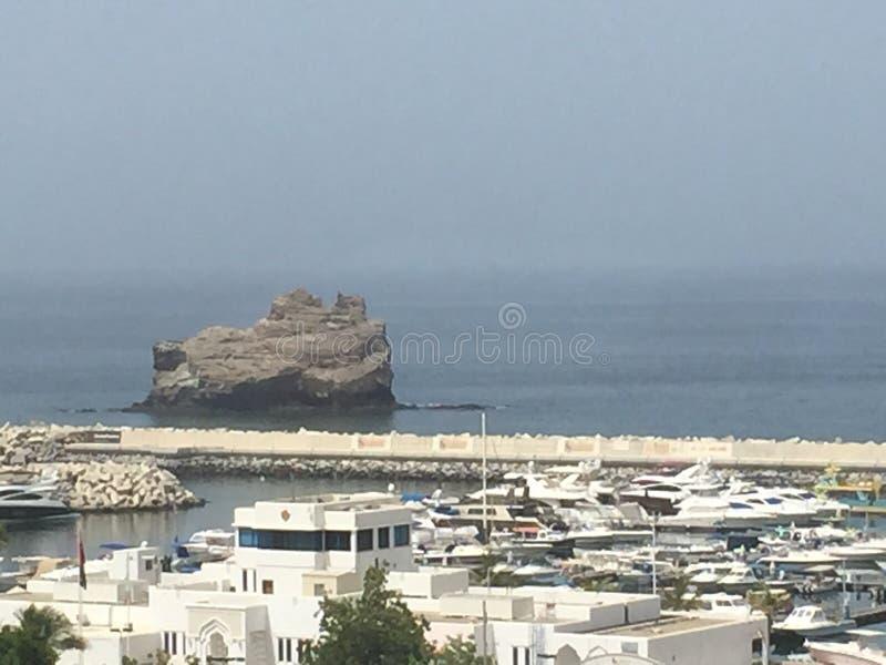 Het overzees van Oman royalty-vrije stock foto