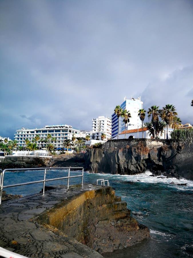 Het overzees van Tenerife royalty-vrije stock fotografie
