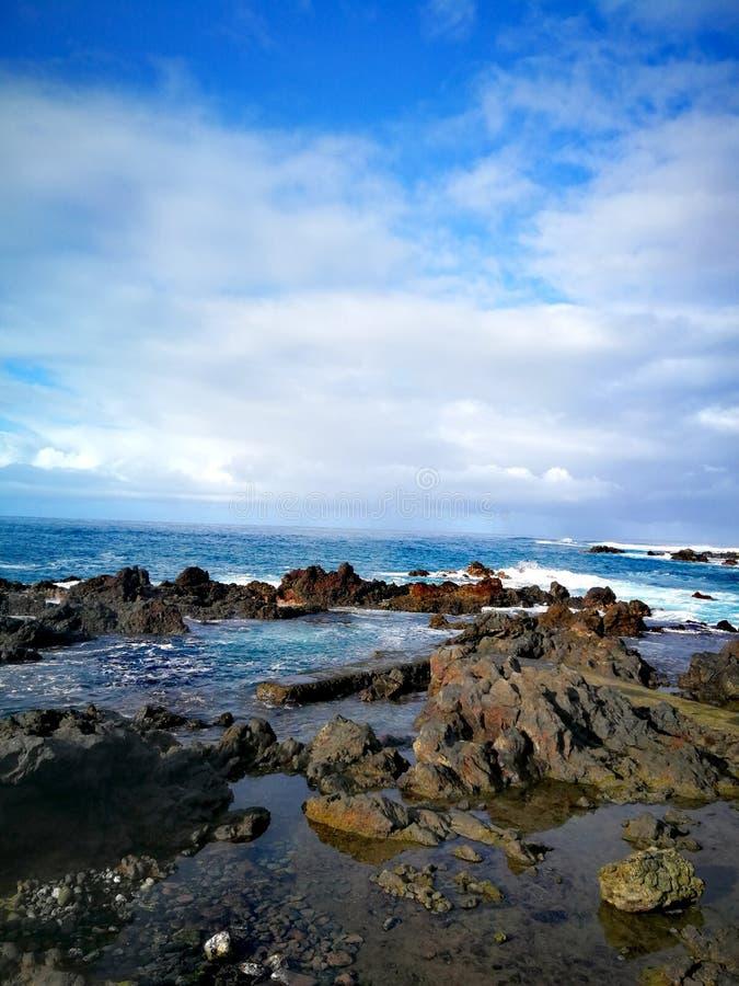 Het overzees van Tenerife royalty-vrije stock foto's