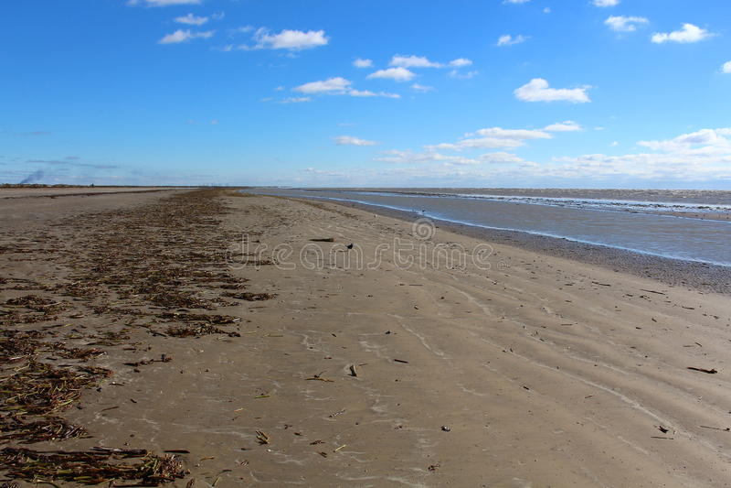 Het overzeese strand van Rim State Park royalty-vrije stock foto