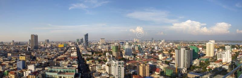 Het Overzichtsdag van Phnompenh royalty-vrije stock foto's