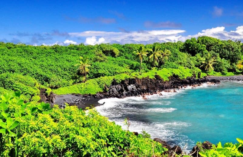 Het overzien van Hawaï royalty-vrije stock afbeeldingen