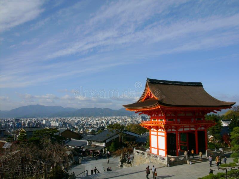 Het overzien van Kyoto royalty-vrije stock foto's
