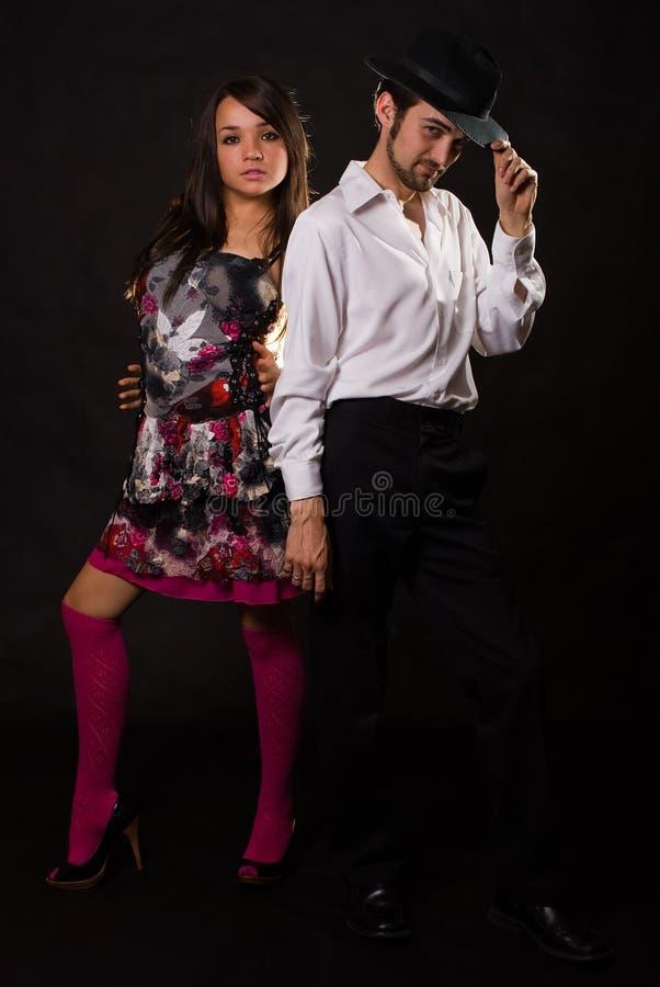 Het paar van Dace royalty-vrije stock foto