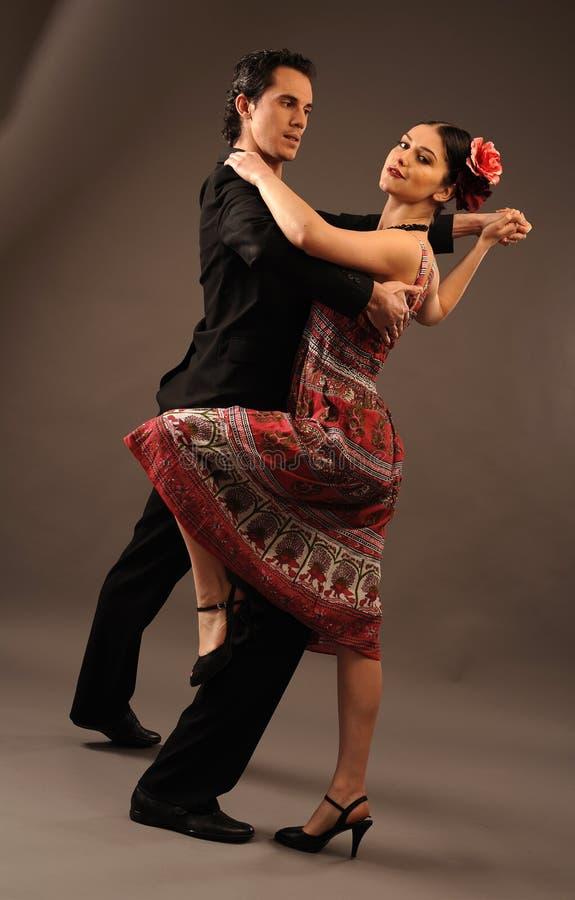Het paar van Dansing
