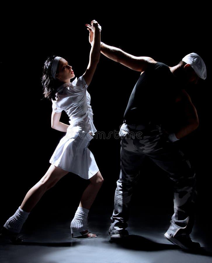 Het paar van de dans royalty-vrije stock afbeelding