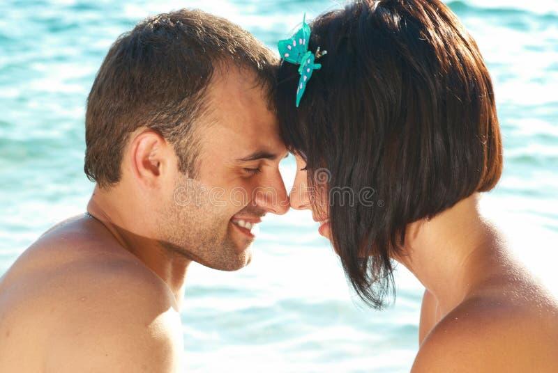 Het paar van de liefde stock afbeelding