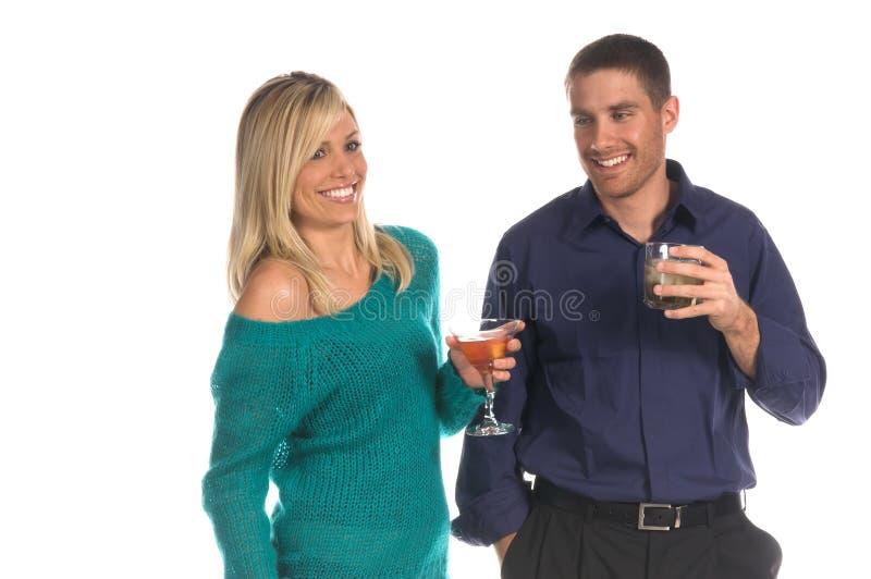 Het Paar van de partij stock foto