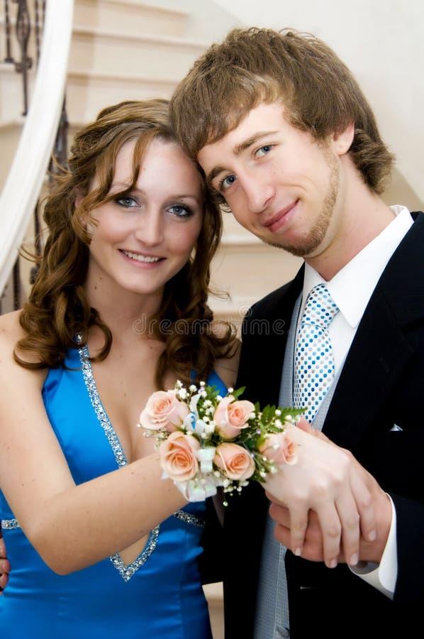 Het paar van Prom