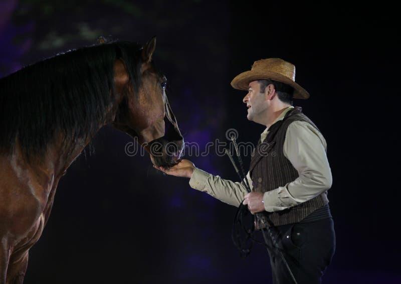 Het Paard van Apassionata toont 2013 stock foto