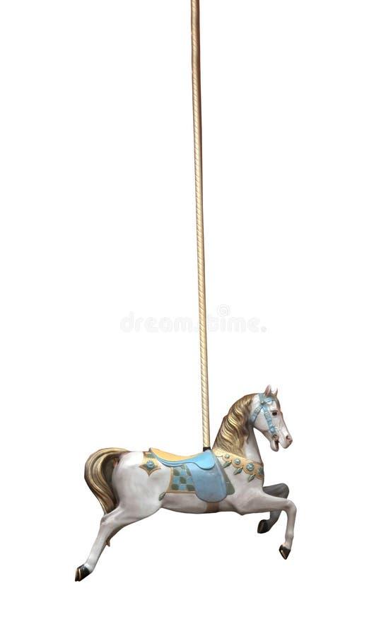 Het Paard van de carrousel royalty-vrije stock afbeelding