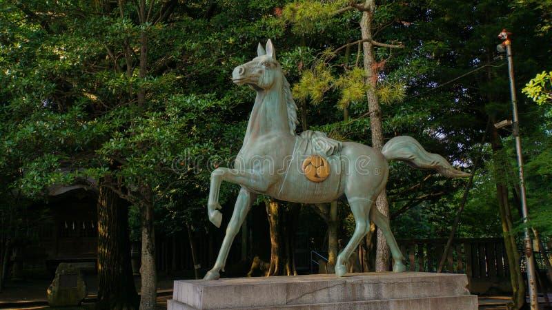 Het paard van het brons royalty-vrije stock afbeelding