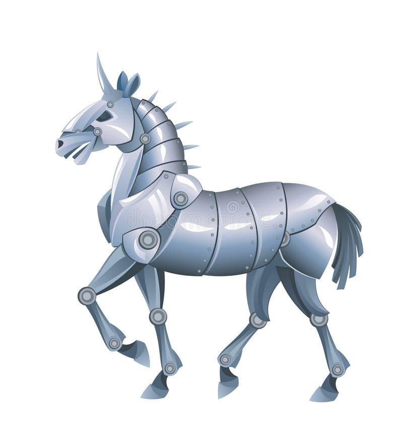 Het paard van het ijzer vector illustratie