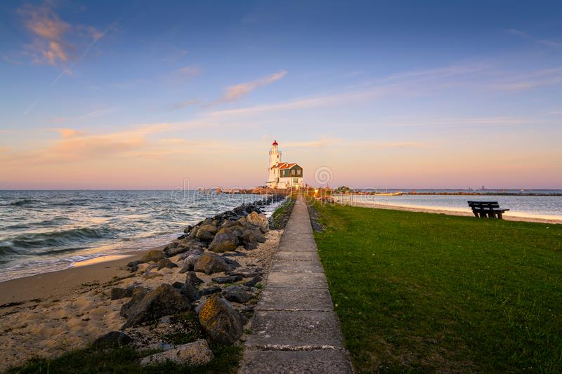 Het Paard van Marken. Sitting on top of my bucketlist for as long as I can remember... The Awesome lighthouse `Het Paard van Marken`. Love how it looks in the royalty free stock photo